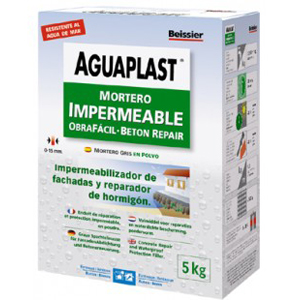 Aguaplast Mortero Impermeable Obrafácil