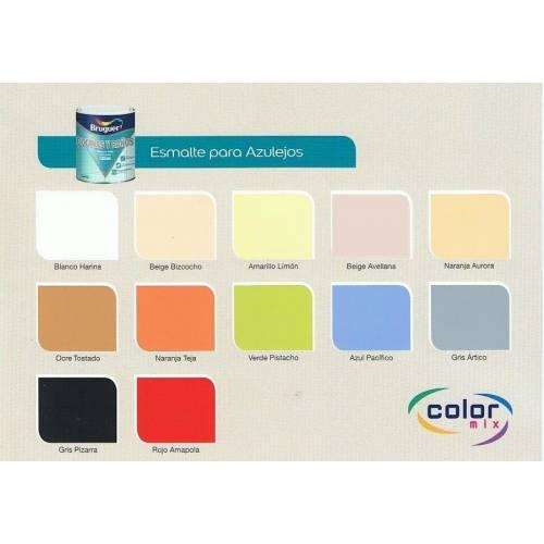 Esmalte azulejos brillante tienda de pinturas online - Colores pintura azulejos bano ...