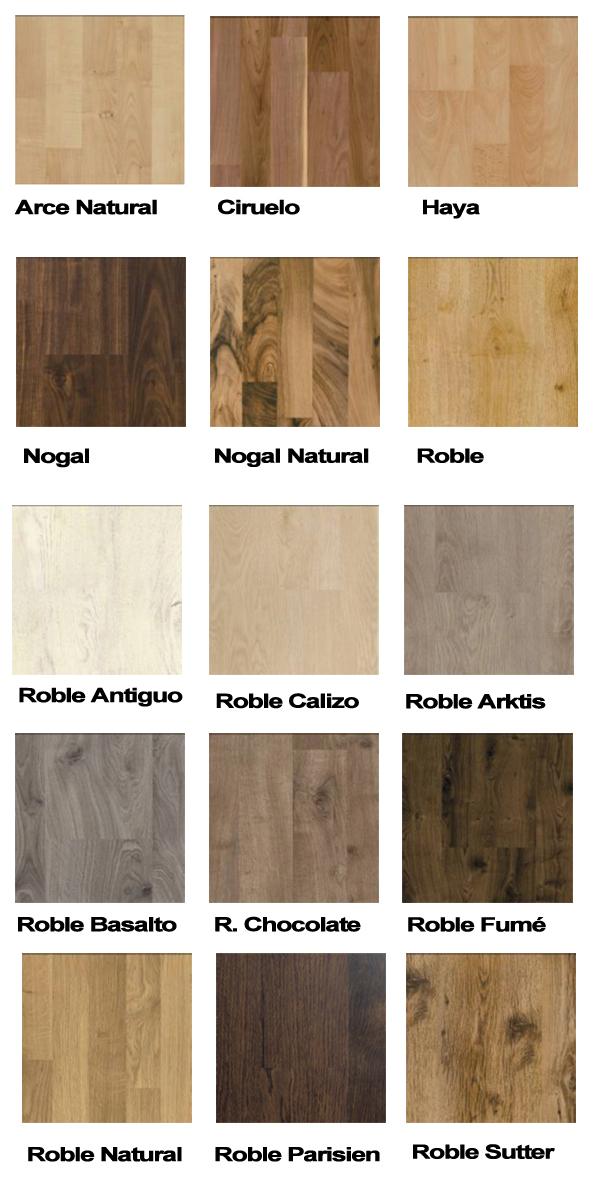 Oferta laminado click in varios colores tienda de - Colores de suelos laminados ...