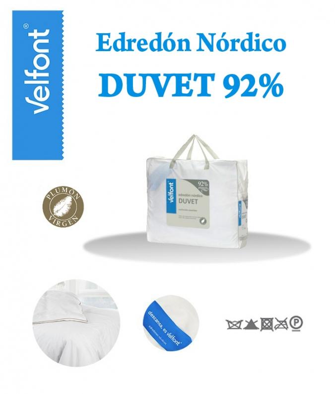Nórdico 92% Plumón