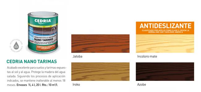 nano tarmias colores