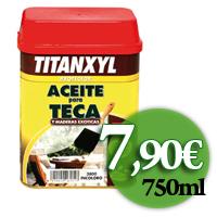 TitanxylAceiteTeca PEKE precio oferta
