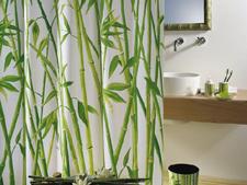 Bambus-Vorhang