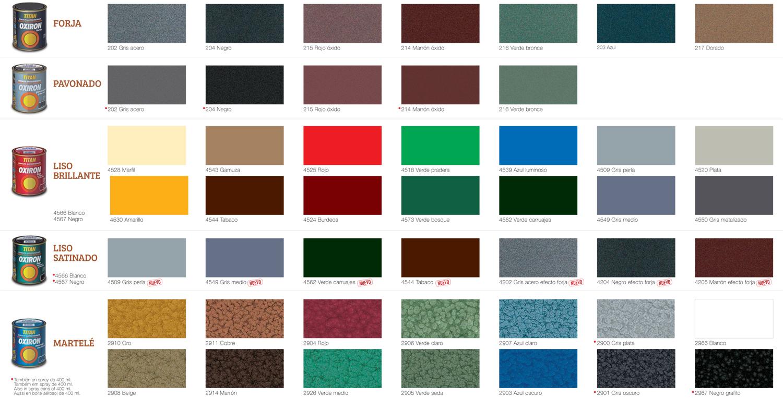 Colores de esmalte 2016 for Gama colores pintura