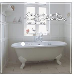 bañeras como nuevas